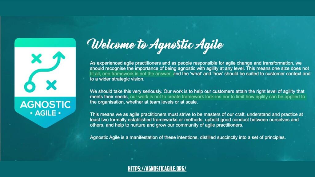 https://agnosticagile.org/