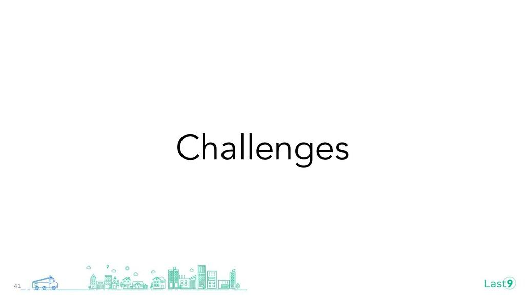 Challenges 41