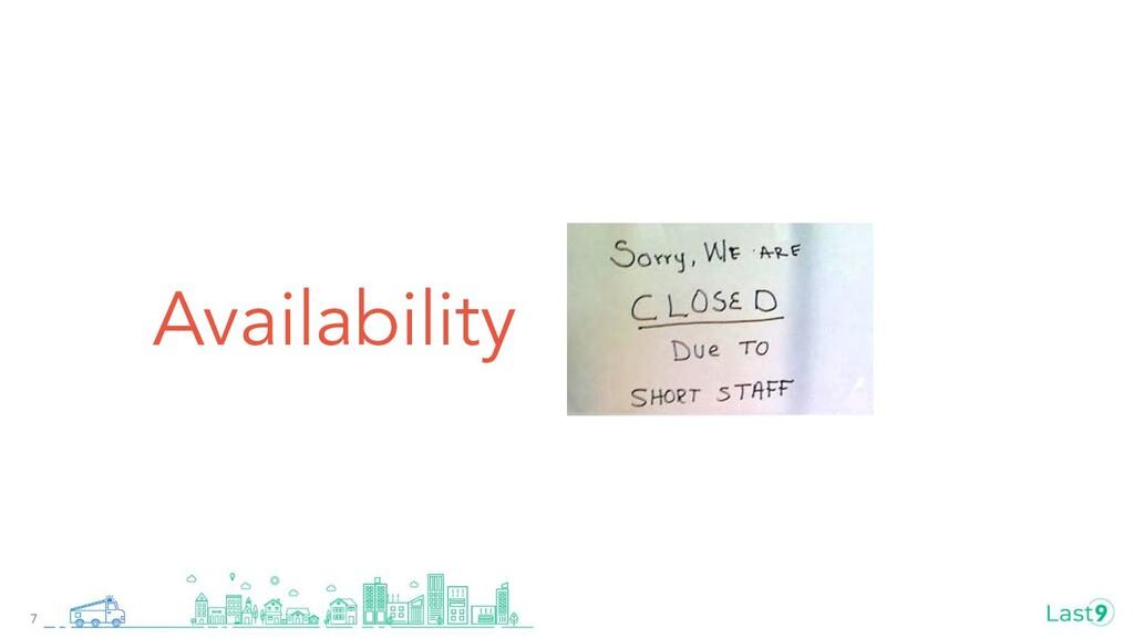 Availability 7
