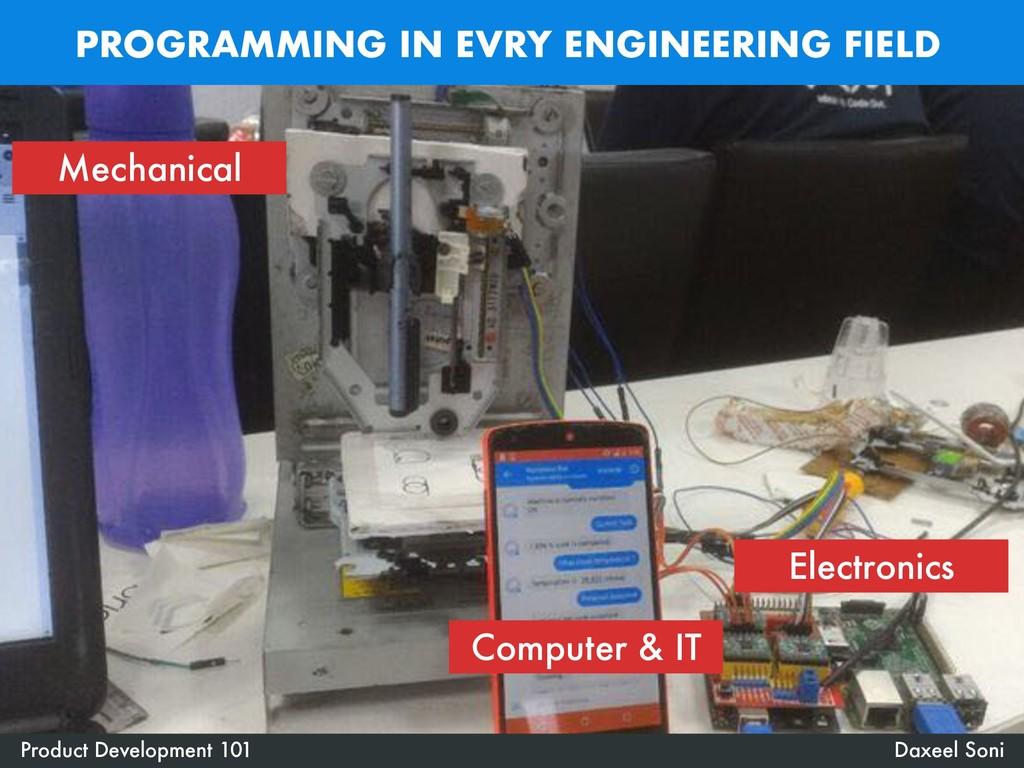 PROGRAMMING IN EVRY ENGINEERING FIELD Daxeel So...