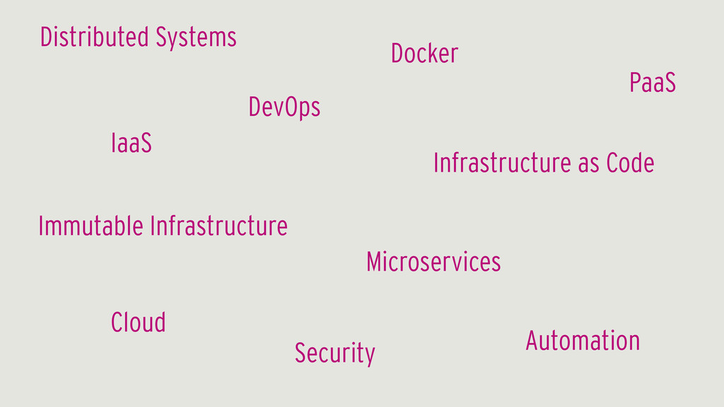 DevOps Infrastructure as Code Cloud Automation ...