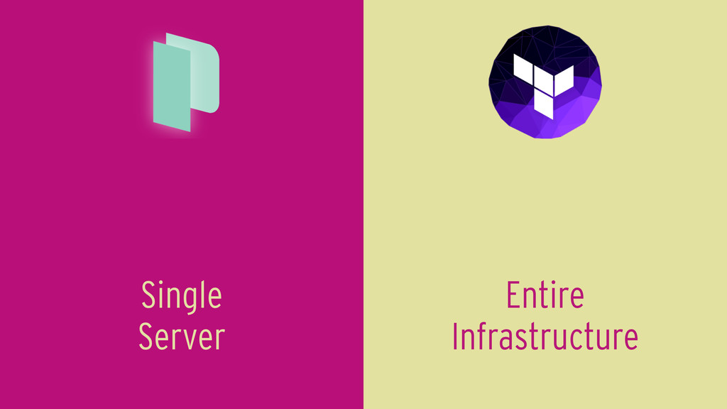 Entire Infrastructure Single Server