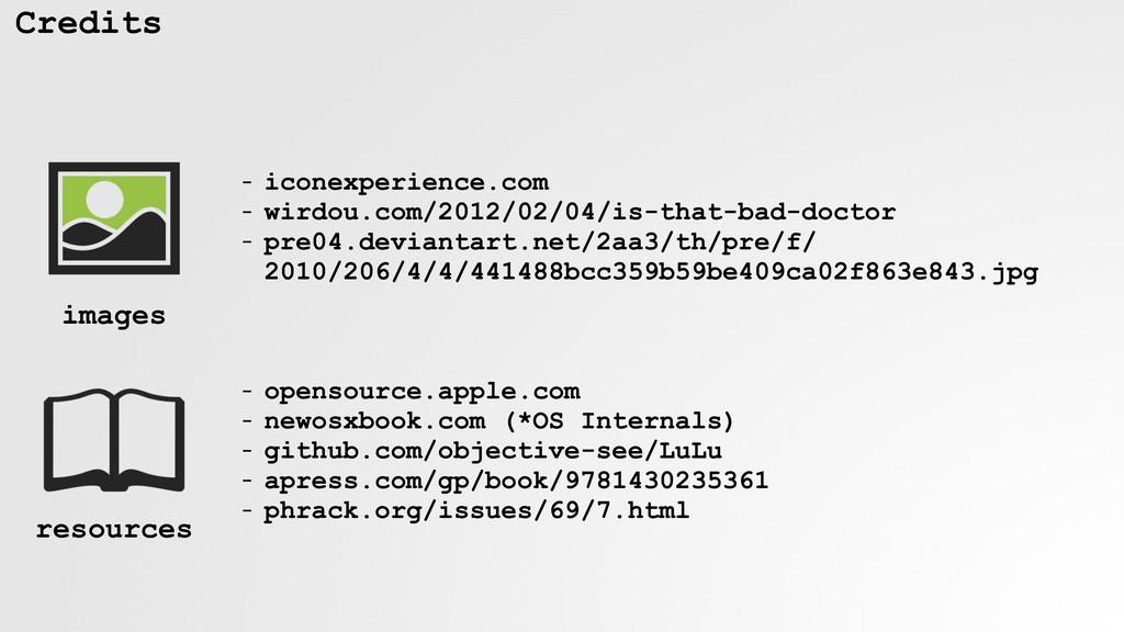 Credits - iconexperience.com - wirdou.com/2012/...