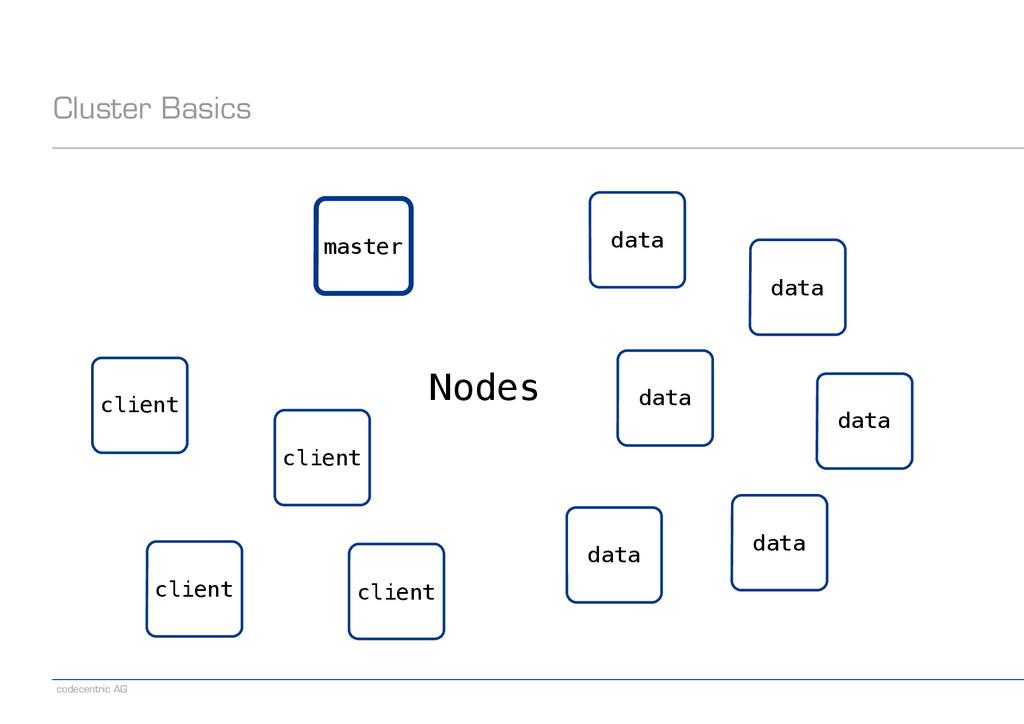 codecentric AG Cluster Basics master client dat...