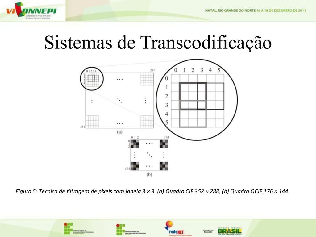 Sistemas de Transcodificação Figura 5: Técnica ...