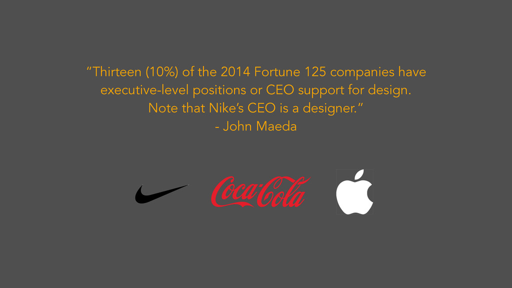 """Thirteen (10%) of the 2014 Fortune 125 compani..."
