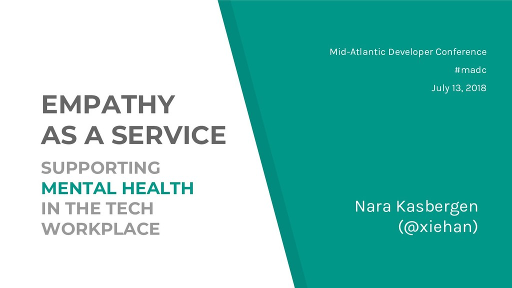 EMPATHY AS A SERVICE SUPPORTING MENTAL HEALTH I...