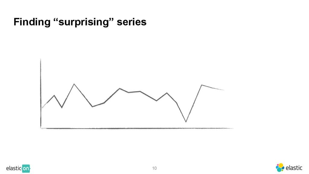 """10 Finding """"surprising"""" series"""