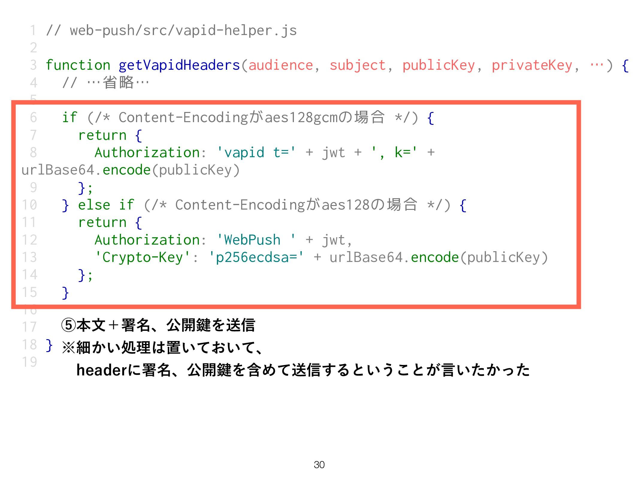 1 // web-push/src/vapid-helper.js 2 3 function ...
