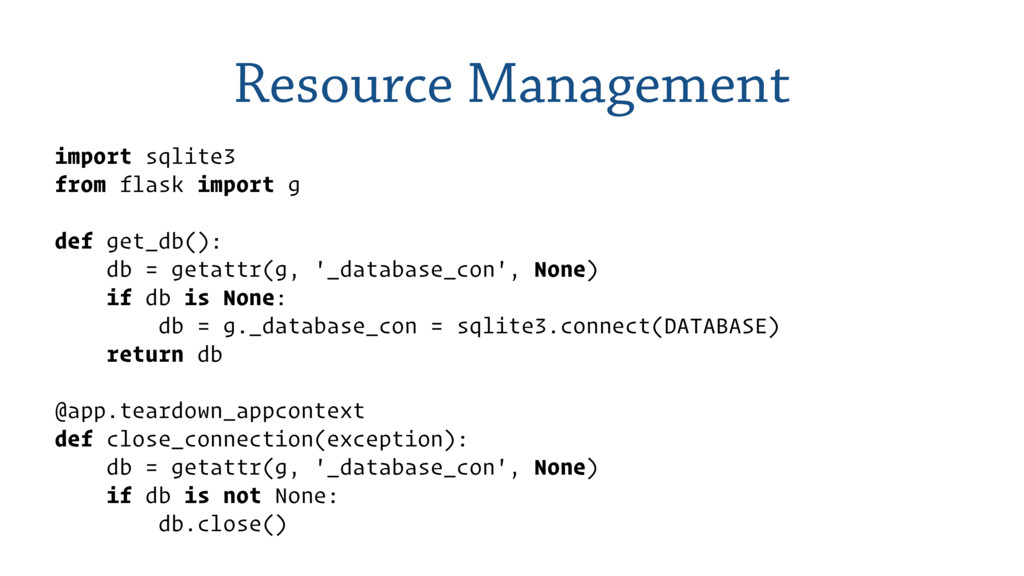 Resource Management import sqlite3 from flask i...