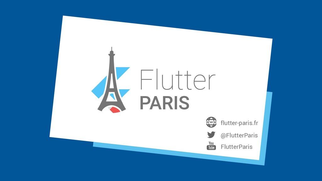 @FlutterParis FlutterParis flutter-paris.fr