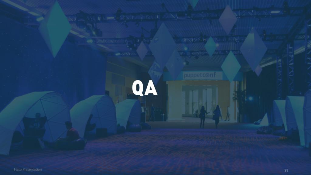 Flato Presentation 23 QA