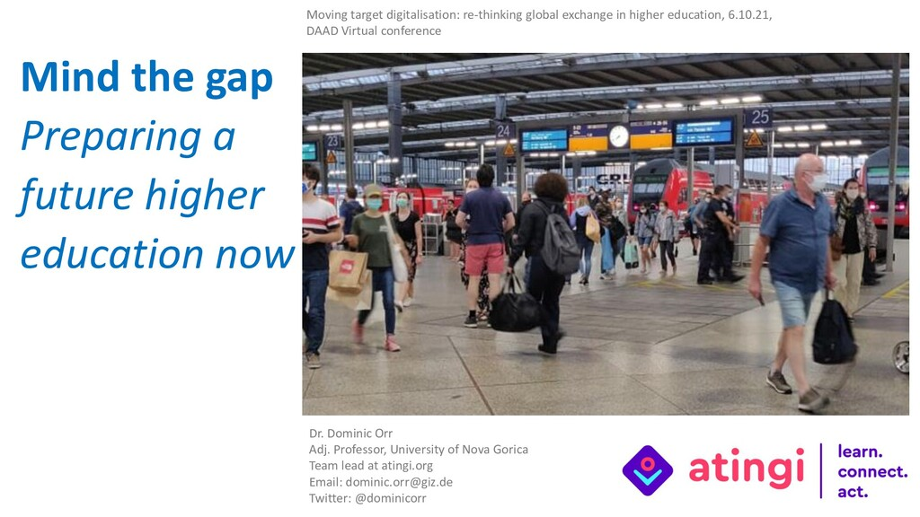 Moving target digitalisation: re-thinking globa...