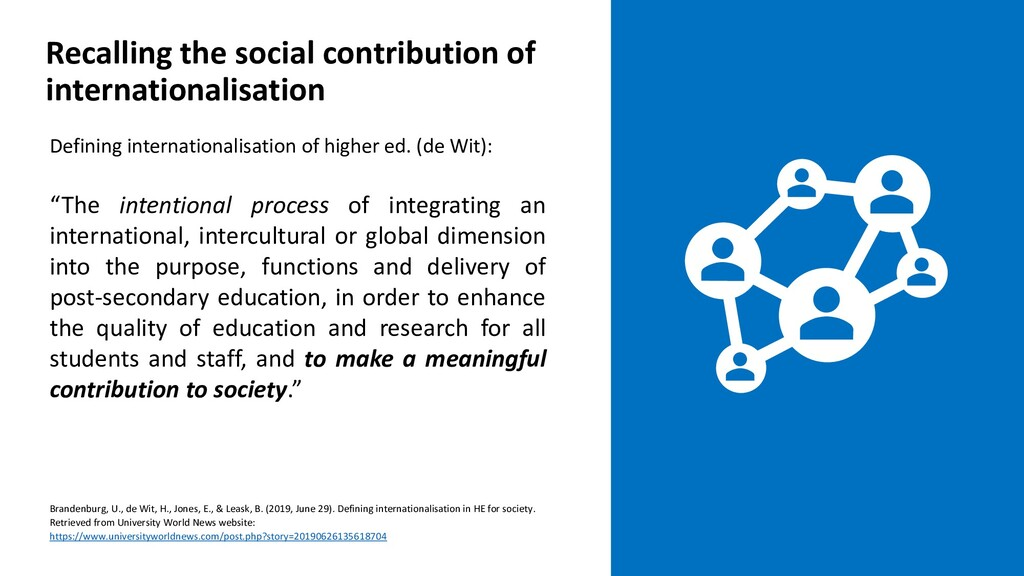 Defining internationalisation of higher ed. (de...