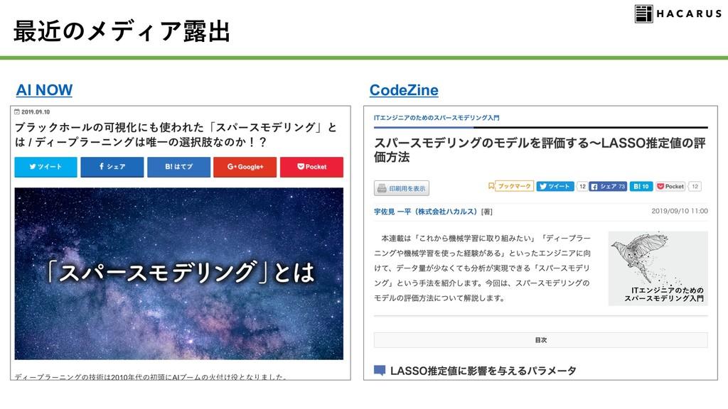 AI NOW CodeZine
