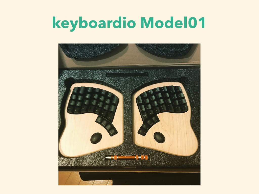 keyboardio Model01