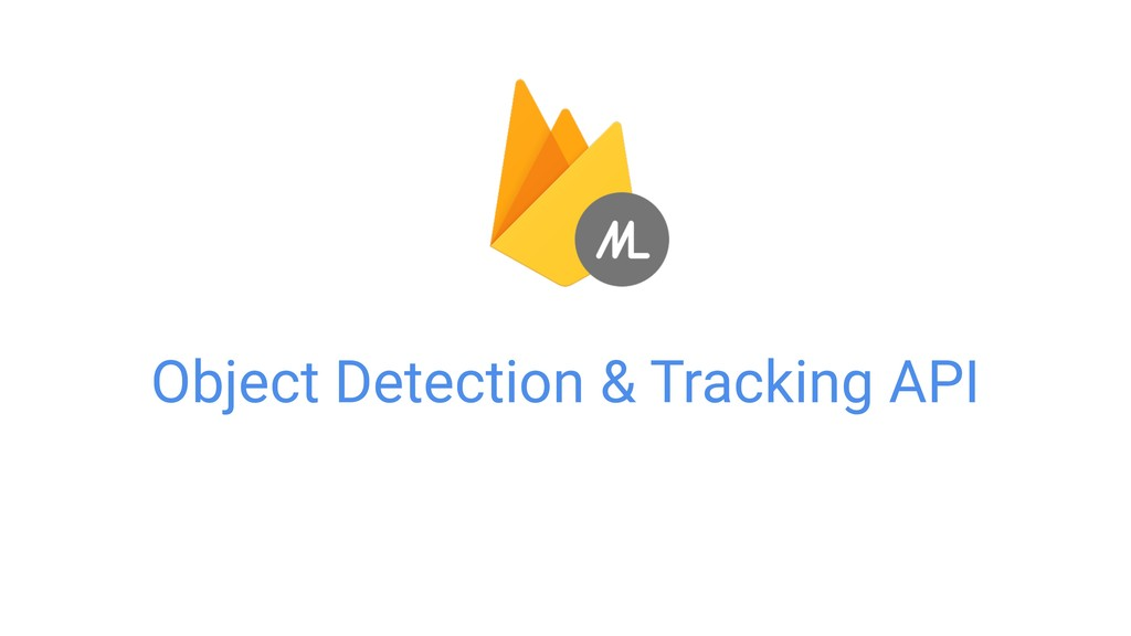 Object Detection & Tracking API