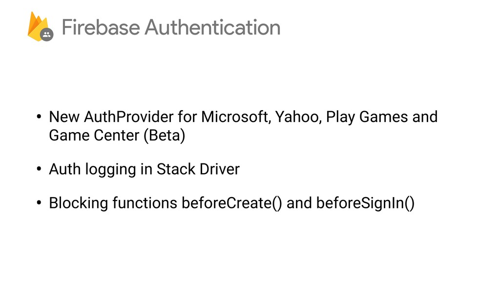 • New AuthProvider for Microsoft, Yahoo, Play G...
