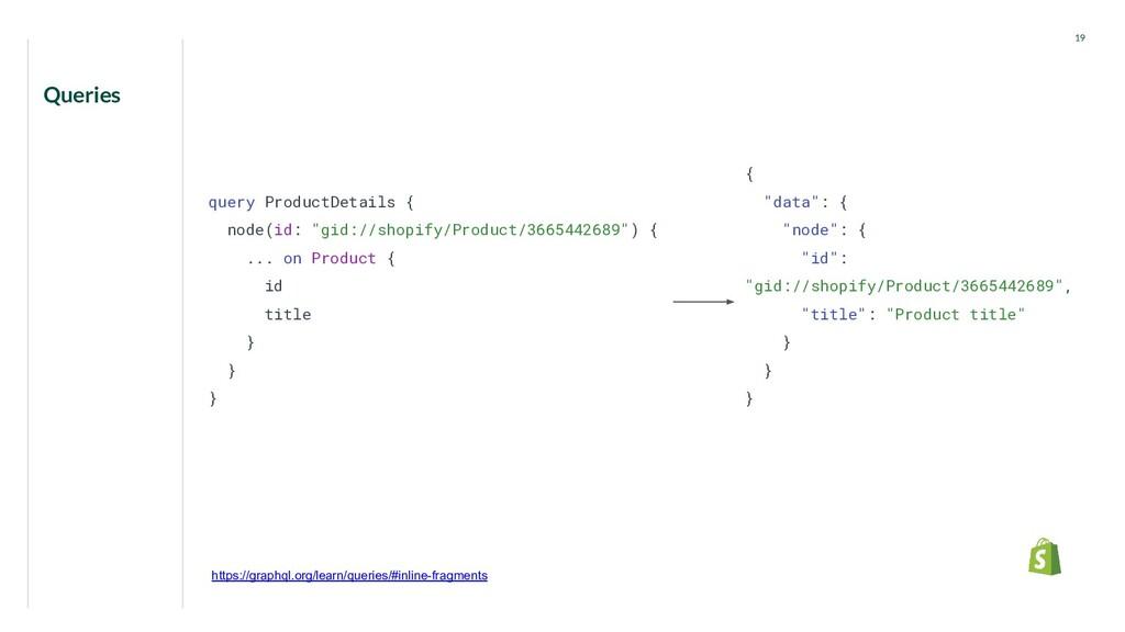 "Queries 19 query ProductDetails { node(id: ""gid..."