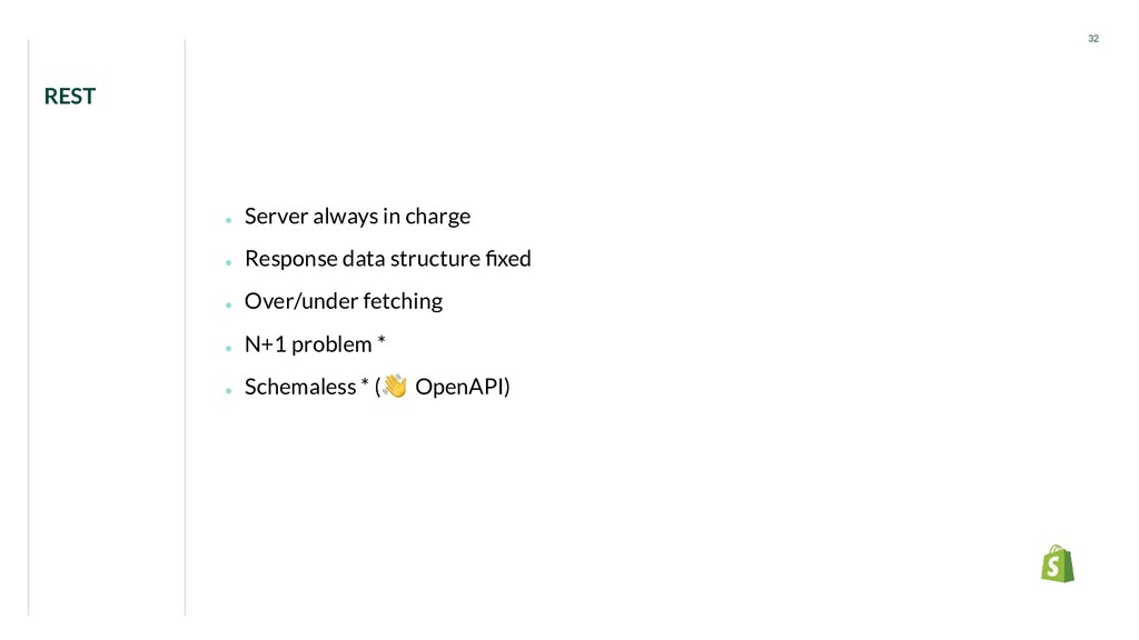 ● Server always in charge ● Response data struc...