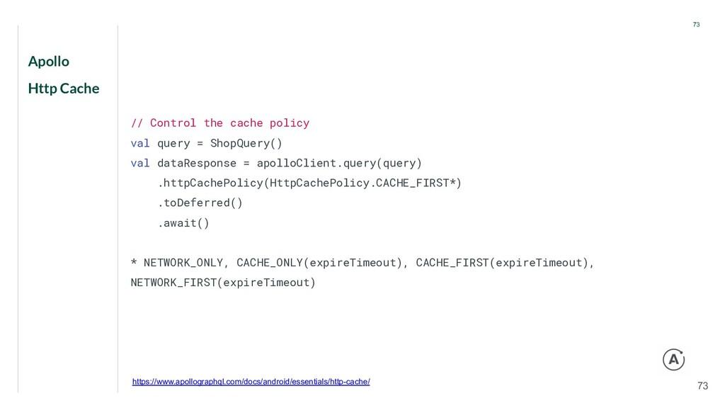 Apollo Http Cache 73 73 // Control the cache po...