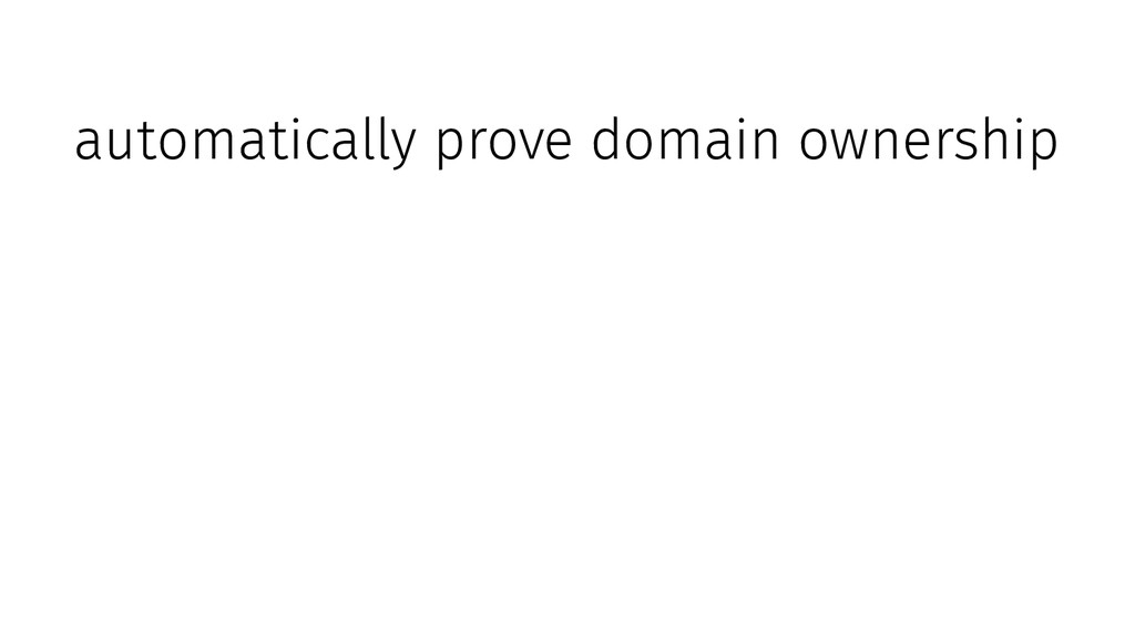 automatically prove domain ownership download a...
