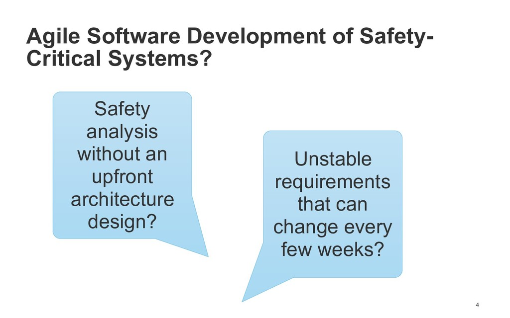 !4 Agile Software Development of Safety- Critic...