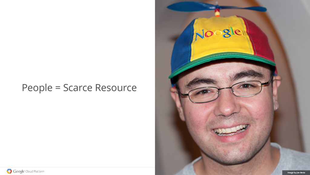 People = Scarce Resource Image by Joe Beda
