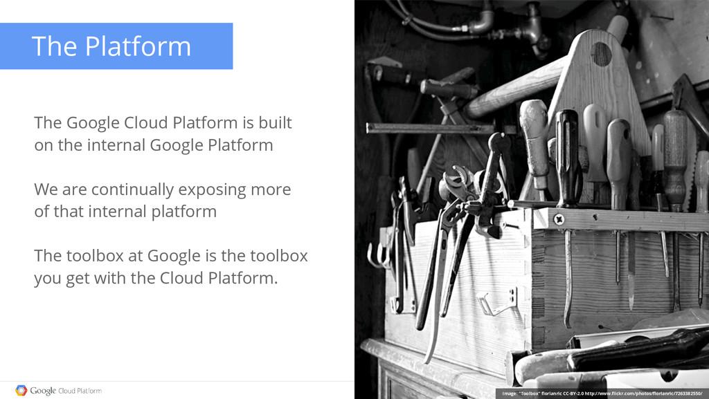 The Google Cloud Platform is built on the inter...