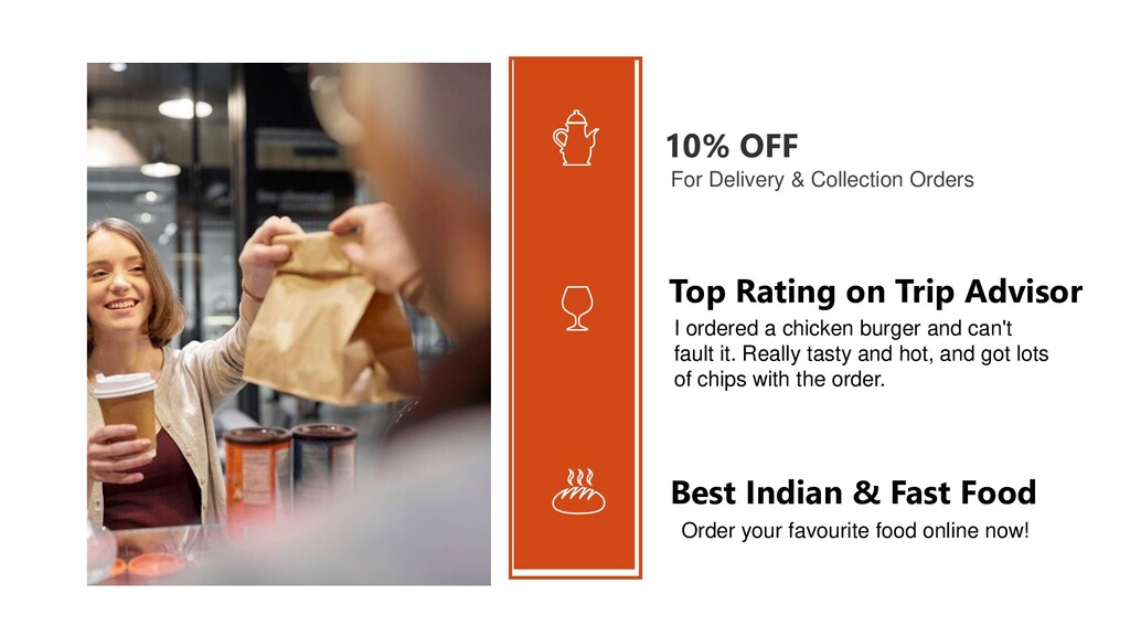 10% OFF For Delivery & Collection Orders I orde...