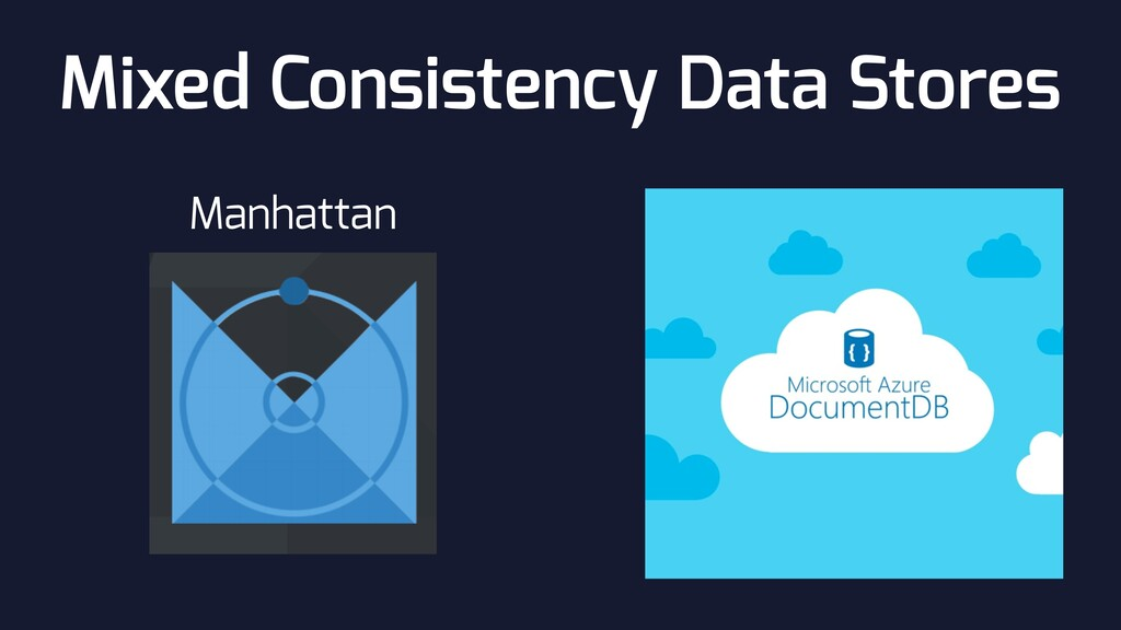 Mixed Consistency Data Stores Manhattan