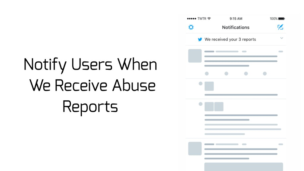 Notify Users When We Receive Abuse Reports