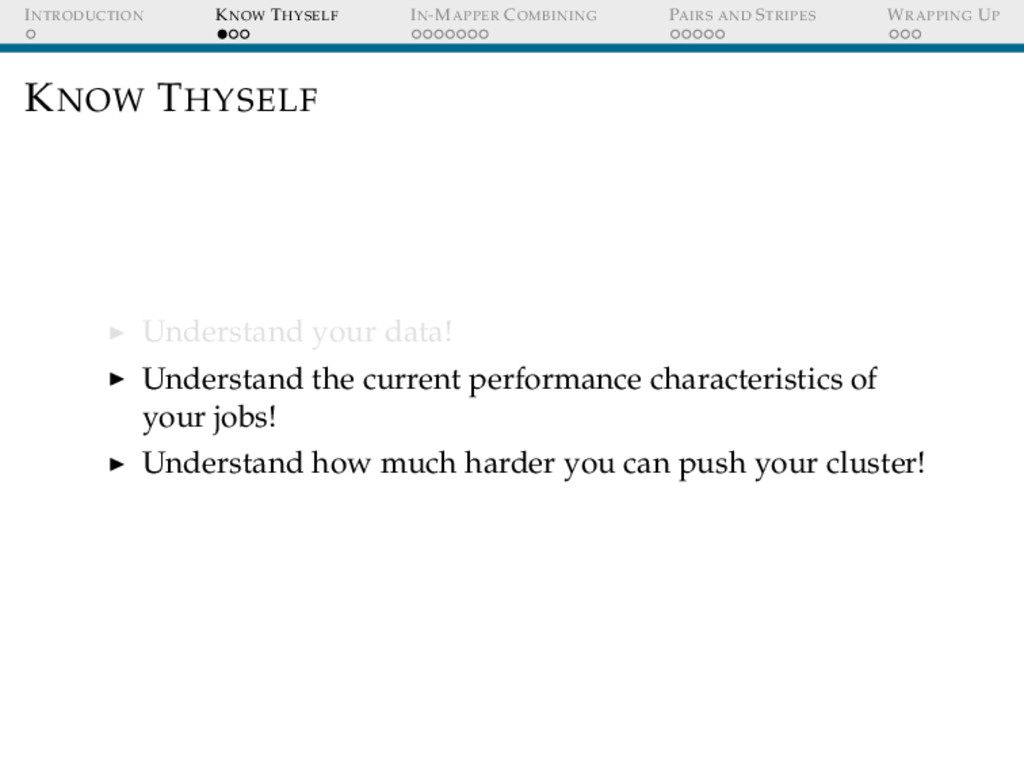 INTRODUCTION KNOW THYSELF IN-MAPPER COMBINING P...