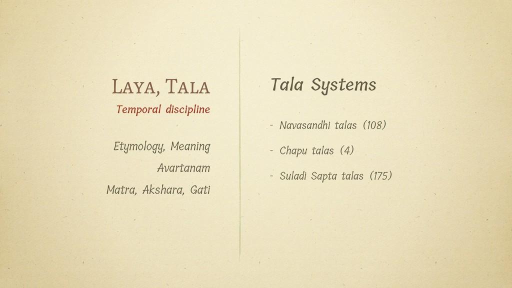 Tala Systems - Navasandhi talas (108) - Chapu t...