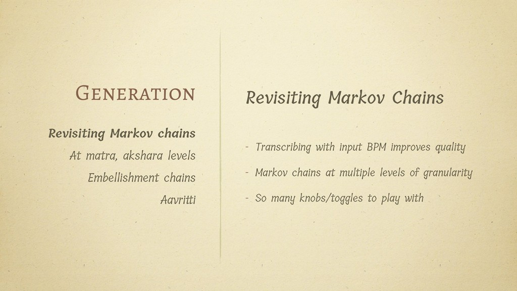 Revisiting Markov Chains - Transcribing with in...