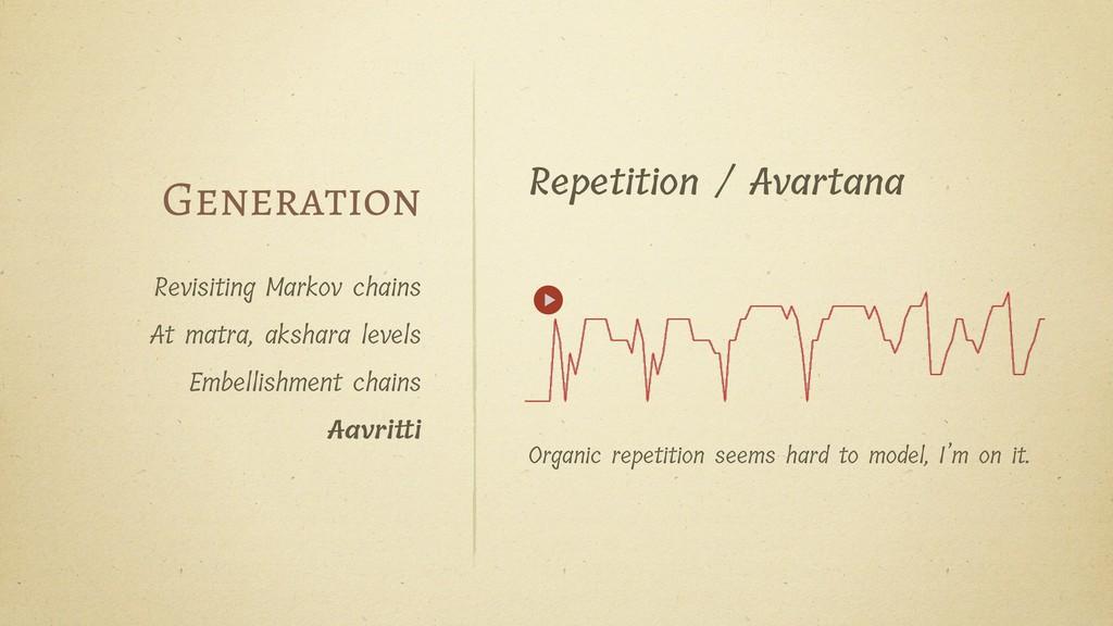 Revisiting Markov chains At matra, akshara leve...