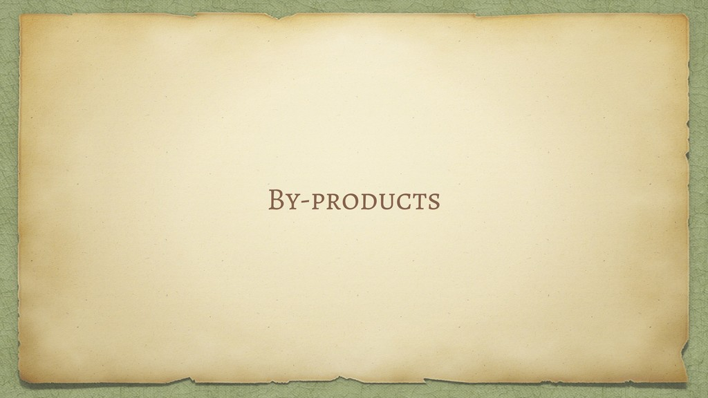 By-products