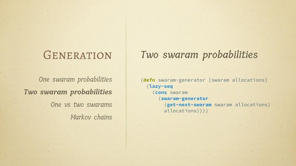 One swaram probabilities Two swaram probabiliti...
