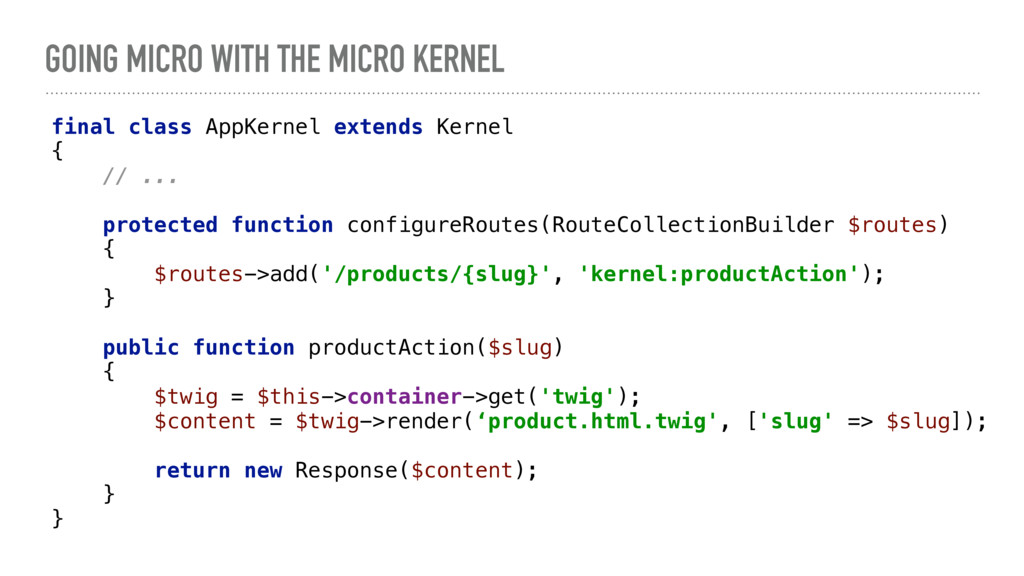 GOING MICRO WITH THE MICRO KERNEL final class A...