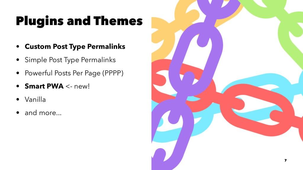 Plugins and Themes • Custom Post Type Permalink...