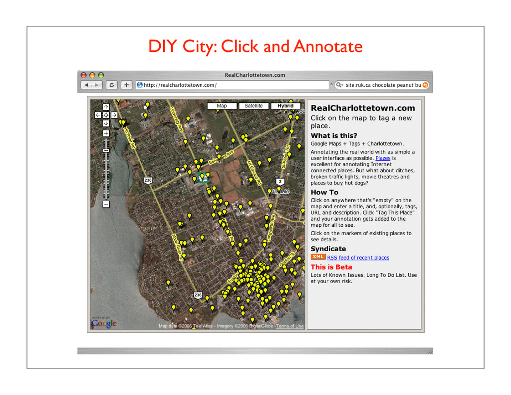 DIY City: Click and Annotate