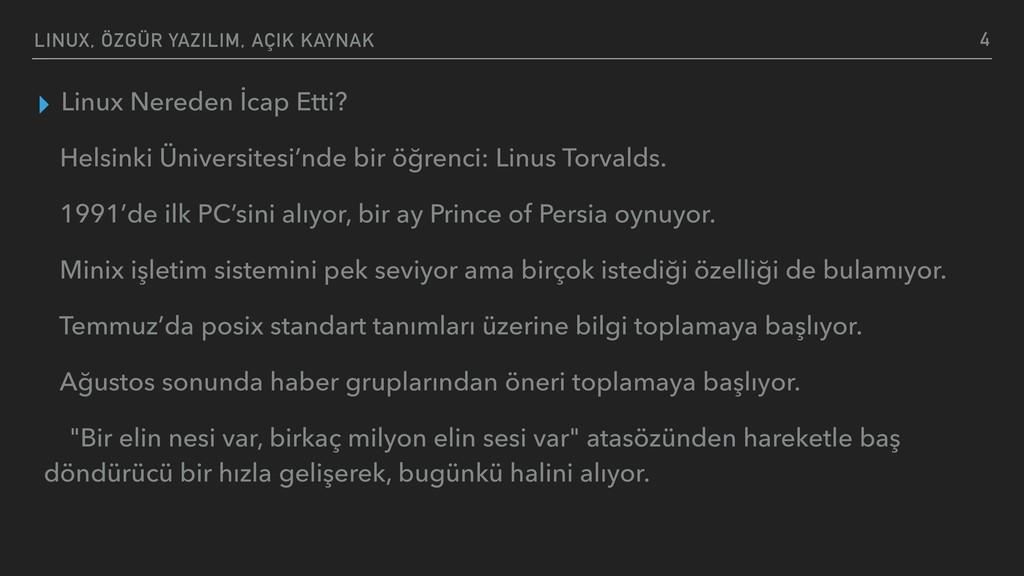 LINUX, ÖZGÜR YAZILIM, AÇIK KAYNAK ▸ Linux Nered...