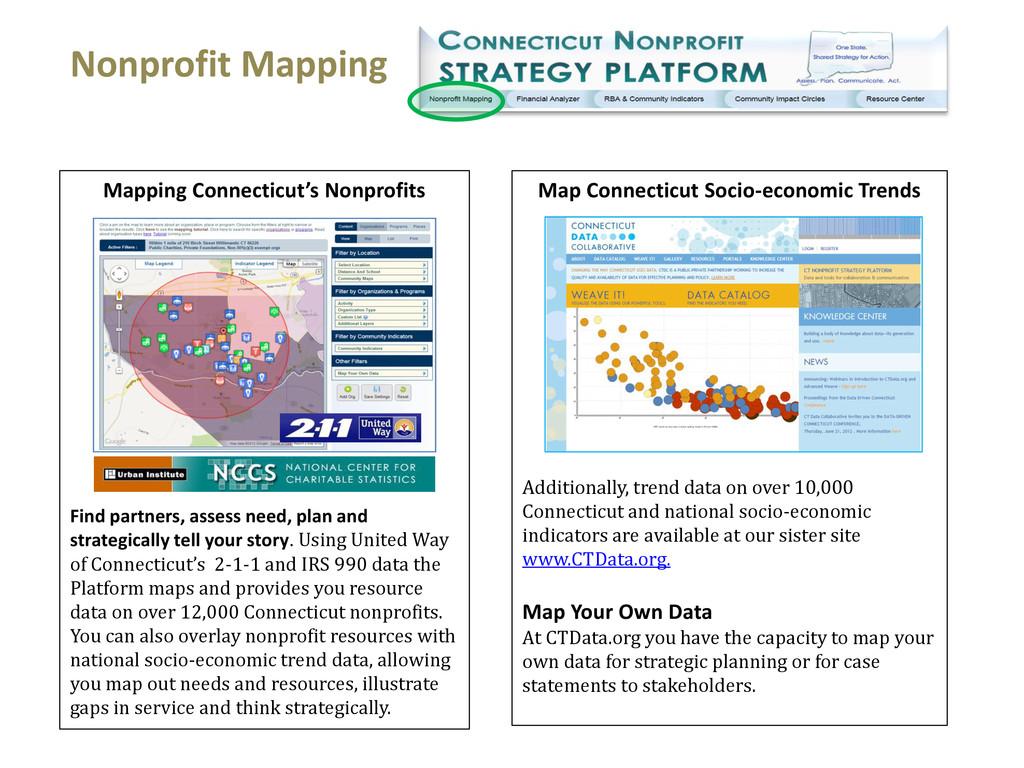 Map Connecticut Socio-economic Trends Additiona...