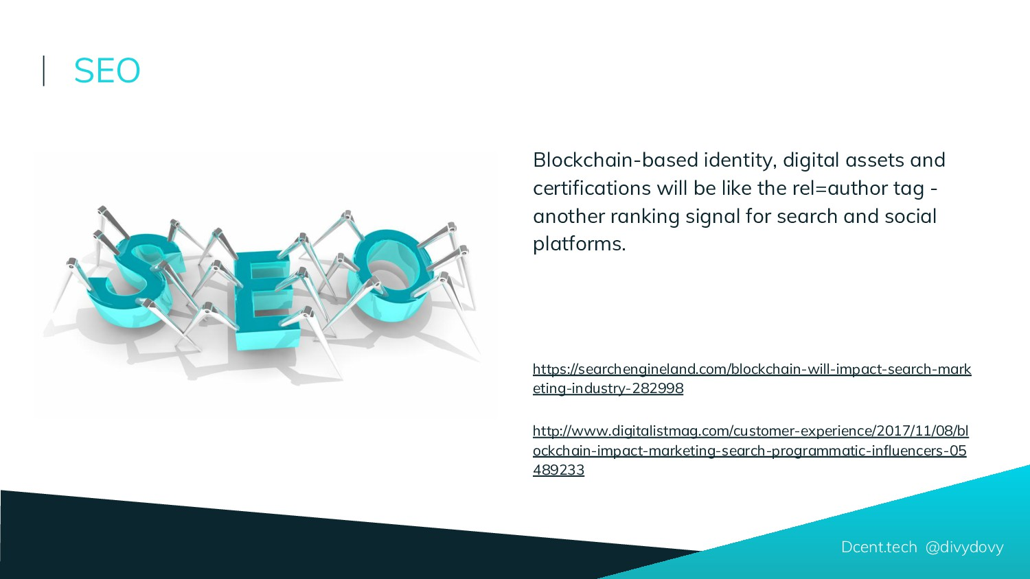 Blockchain-based identity, digital assets and c...