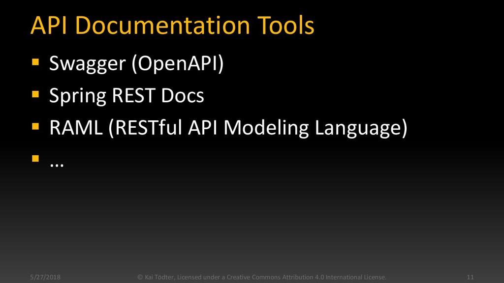 API Documentation Tools  Swagger (OpenAPI)  S...