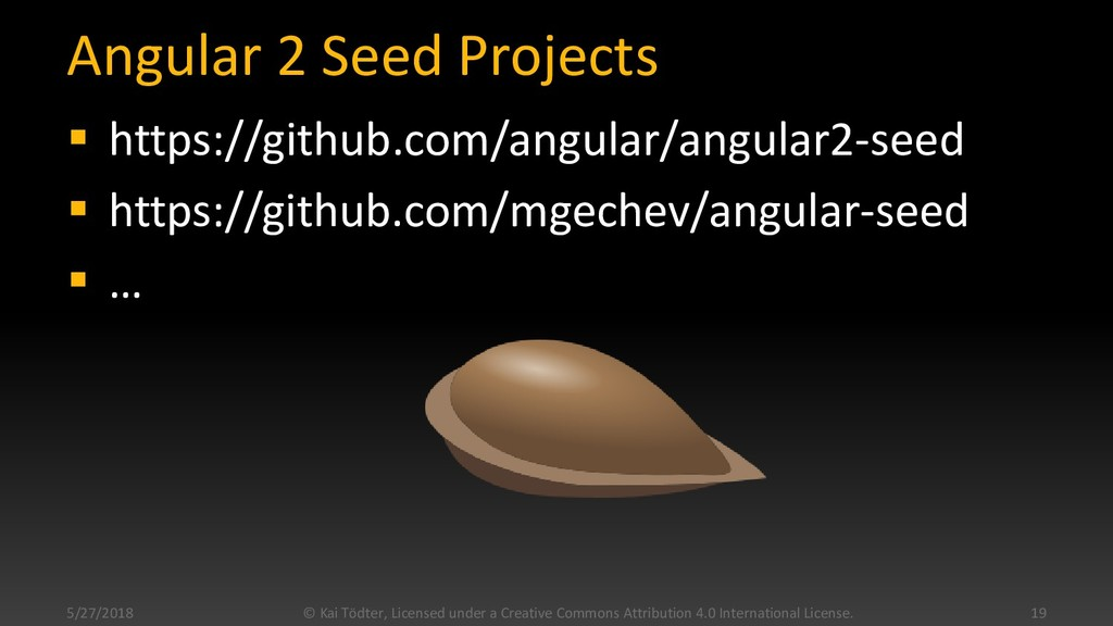 Angular 2 Seed Projects  https://github.com/an...