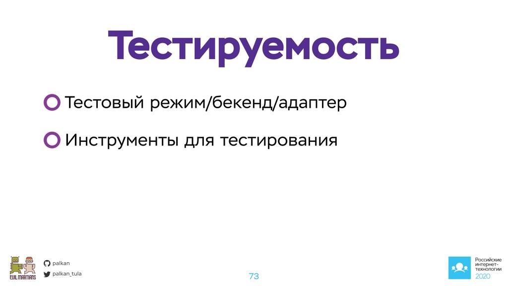 palkan_tula palkan Тестируемость 73 Тестовый ре...