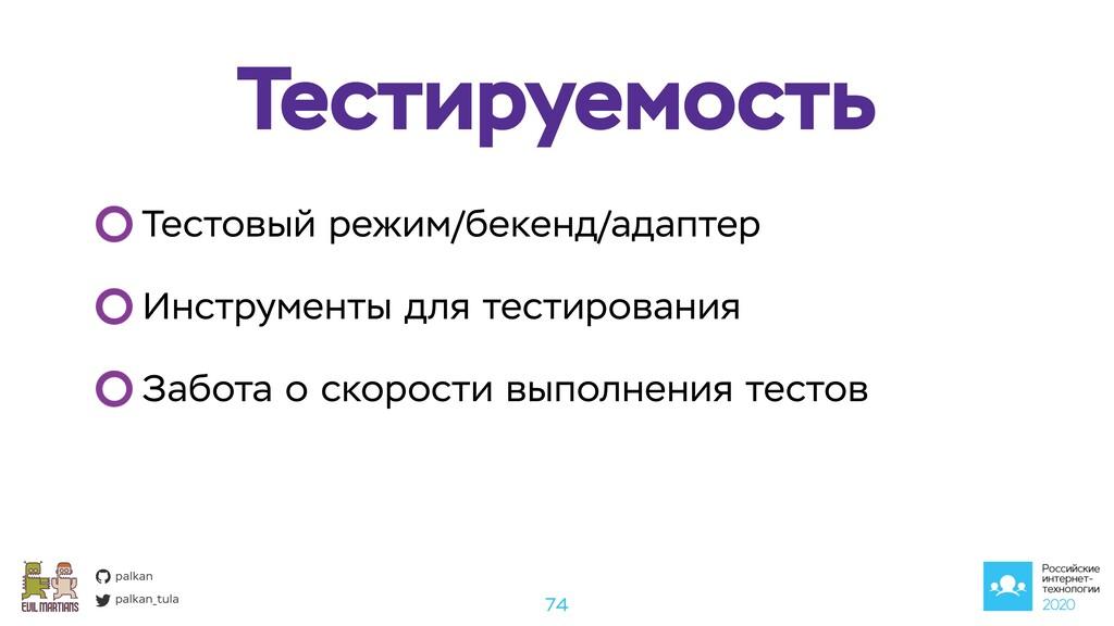 palkan_tula palkan Тестируемость 74 Тестовый ре...