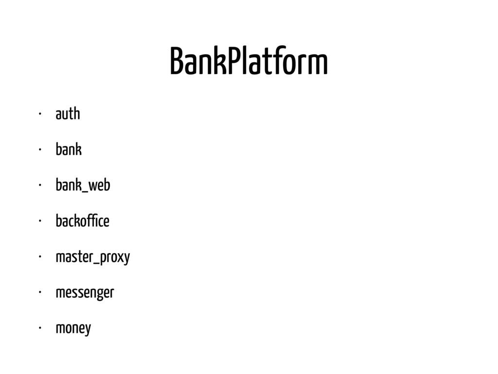 BankPlatform • auth • bank • bank_web • backoffi...