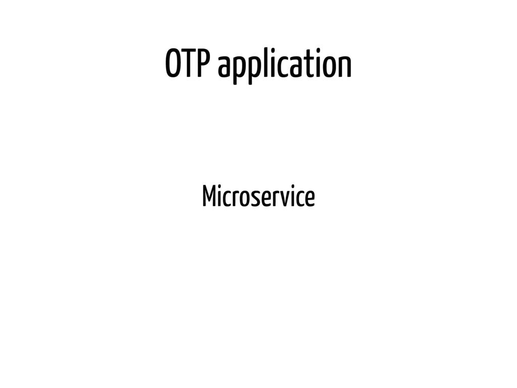 OTP application Microservice